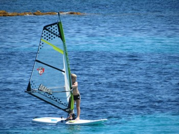 windsurf lesson